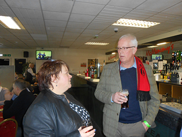 Agony Aunt Brian discusses opportunities with CUFC Commercial Manager, Julie.