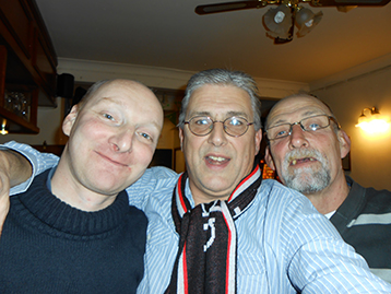 John, The Innkeeper & Histon Exile Andy are obviously at one after another great result.