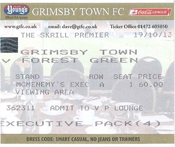 Grimsby Town v Forest Green