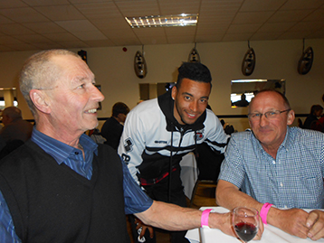 Nathan Arnold took time out to speak to the Chairman and the Dean.