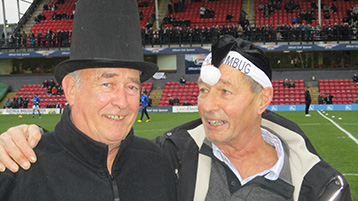 In all, the President and Chairman can be satisfied with the evolution of the Histon Mariners Campaign at a time of festive pantomime, much of the Premier League circus increasingly leaves the fans and real football behind - will tackling become extinct!!! Real football fans dread such an accusance.